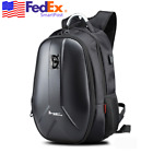 Waterproof Moped Scooter Backpack Adjustable Helmet Bag Pack USB Hole Universal