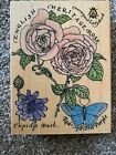 Rubber Stampede English Rose Collage Stamp A2151G