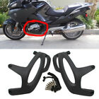 Black Engine Guard Cover Sliding Crash Protector For BMW R1200GS R1200RT R1200R