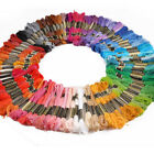 Lot 50/100 Multi Colors Cross Stitch Cotton Embroidery Thread Floss Sewing Skein