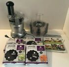 Veggie Bullet Electric Food Processor Many Extras Excellent Condition