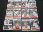 1964 Topps Near Cubs Team Set lot of 12 Different