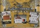 2019 Leaf Ultimate Sports factory sealed hobby box 3 premium hits