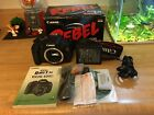 Canon EOS Rebel T3i EOS 600D 180MP Digital SLR Camera Black With Box