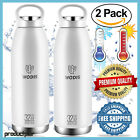 2 Pack 32 oz Insulated Flask Water Bottle18 8 Stainless Vacuum Hot