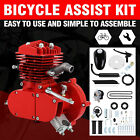 Red 2 Stroke 80cc Motorized Bike Bicycle Cycle Petrol Gas Engine Motor Kit
