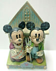 Disney Traditions Enesco HOME GROWN Mickey Minnie Mouse Figurine Jim Shore!