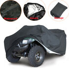 L 210D Oxford Waterproof Quad ATV Cover 4 Wheels For Polaris Can-Am Honda Yamaha