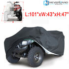 XXXL Universal ATV ATC Quad Bike Cover Oxford 4 Wheel Waterproof Dust Resistant