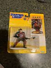 Sandis Ozolinsh Action Figure + Card Avalanche NHL 1997 Starting Lineup