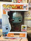 SDCC 2018 Exclusive Funko Metallic Whis Mint Dragon Ball #317 Official Sticker!