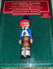 HALLMARK 1985 CLOTHESPIN SOLDIER #4 SERIES  ORNAMENT