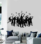 Vinyl Wall Decal Music Notes Night Club Party Disco Dance Stickers Mural g1809