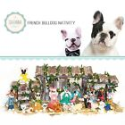 SAVANNASHOPS Dog Nativity French Bulldog Gifts Nativity Sets Dog Lover Gifts