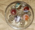 ❤ Vintage Marble Akro Peltier/Christensen Agate Vitro CAC Swirls  Colorful Mix