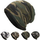 Unisex Winter Hat Warm Cotton Blend Camouflage Print Cargo Cap For Men Women