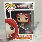 Funko Pop! Red Sonja Bloody 158 Vinyl Figure Ox Previews Exclusive Brand New !