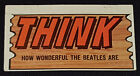 1964 Topps Beatles Plaks Trading Cards 12