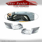 Front Vented Aluminum Inner Fender Liner Set 07 18 For Jeep Wrangler JK A1