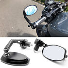 Pair Motorcycle 7 8 Handle Bar End Rear View Mirrors for Kawasaki Zero Suzuki