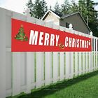 Merry Christmas Huge Banner House Home Party Decoration Outdoor Indoor Xmas