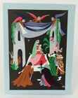 Vladimir Bobri Mid Century Christmas Card Unused Nativity THE ADORATION