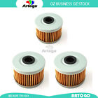3 Pcs Engine Oil Filter Fit Kawasaki KL250 G4-G7 Super Sherpa 2000-2002 2003
