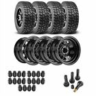 JEGS 681110K54 Jeep Wheel and Tire Kit 1987 2006 Wrangler YJ TJ 1984 2001 Cherok