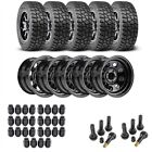 JEGS 681110K55 Jeep Wheel and Tire Kit 1987 2006 Wrangler YJ TJ 1984 2001 Cherok