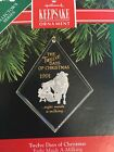 Hallmark 1991 Twelve Days Of Christmas Eight Maids A-Milking # 8 in series