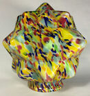 New 3 1 4 Multi Color Art Deco End Of Day Starburst Lamp Shade Globe SS960