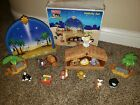 Fisher Price Little People Nativity Set Nativity Set Original Box No White Sheep