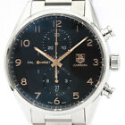 Polished TAG HEUER Carrera Calibre 1887 Chronograph Steel Automatic Men BF503547