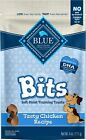 Blue Buffalo Blue Bits Tasty Chicken Recipe Soft Moist Training Dog Treats 4 oz