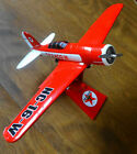 2010 Wings of Texaco Metal Airplane #18 SPECIAL EDITION LOCKHEED SIRIUS 8A   RED