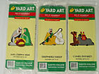 Vintage Yard Art Do It Yourself patterns lot of 3 Nativity 1998 NIP woodworking