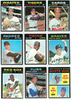 1971 71 Topps LOT YOU PICK EX MT SINGLES 7 2 COMPLETE YOUR SET UPDATED 5 8 20
