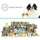 SAVANNASHOPS Dog Nativity Japanese Chin Gifts Nativity Sets Dog Lover Gifts