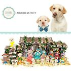 SAVANNASHOPS Dog Nativity Labrador Retriever Gifts Nativity Sets Dog Lover