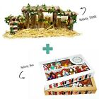 SAVANNASHOPS Dog Nativity Stable and Storage Box Nativity Nativity Manger