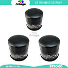 3 Pcs Engine Oil Filter Fit Suzuki ATV KLT-A400 King Quad 400 AS Camo 2009-2018