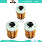 3 Pcs Engine Oil Filter Fit Aprilia ETV 1000 Caponord Rally Raid 2004