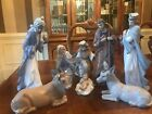 NAO BY LLADRO 8 PIECE PORCELAIN NATIVITY SET