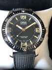 Oris 65 Heritage Diver With Date Rubber Strap 100m Swiss Watch Runs Perfectly