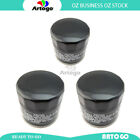 3 Pcs Engine Oil Filter Fit Ducati992 ST3 S ABS USA 2007