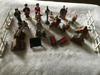 VINTAGE  CHRISTMAS VILLAGE PEOPLE and ACCESSORIES Lemax & more