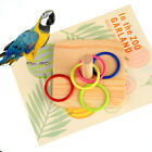 Supplies Plastic Ring Gnawing Intelligence Training Bird Chew Toy Parrot Wooden