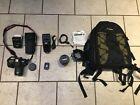 Rarely used Canon EOS 7D Digital SLR Camera with lenses and Accessories