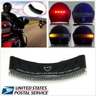 Wireless 8 LED Motorcycle Rider Helmet Warning Turning Signal & Stop Brake Light