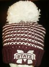 MISSISSIPPI STATE BULLDOGS University Adidas Winter Hat Beanie (New with Tags!)